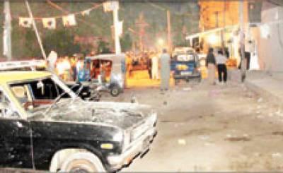 کراچی / فائرنگ کے واقعات ۔ کمسن بچی سمیت 5 افراد ہلاک، امام بارگاہ کے قریب دو بم دھماکوں میں 18 افراد زخمی