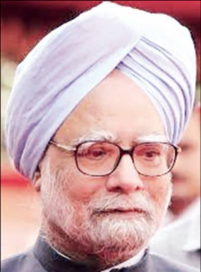 سرتاج عزیز کی بھارتی وزیراعظم منموہن سنگھ سے ملاقات