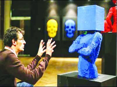 برسلز میں لیگو بلاکس سے بنے فن پاروں کی نمائش