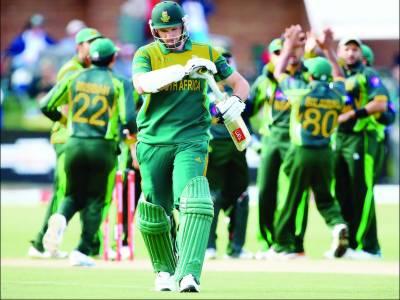 پاکستان جنوبی افریقہ کا کیلنڈر ائر میں 23 میچ کھیلنے کا عالمی ریکارڈ