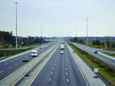شاہراہوں کو اپ گریڈ کرکے ترقی کا حصول نصب العین ہے' ارشد محمود