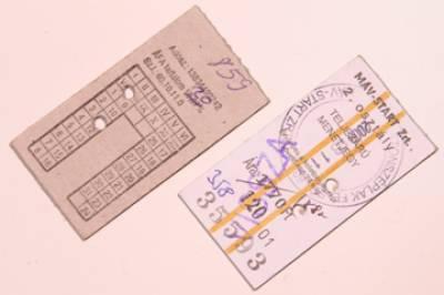 ٹرینوں پر بغیر ٹکٹ سفر کرنے والے 56 مسافروں کو جرمانے