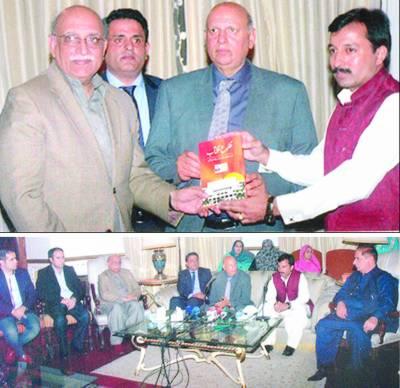 اہل قلم نے معاشرتی تبدیلی میں بھرپور کردار ادا کیا:چودھری سرور