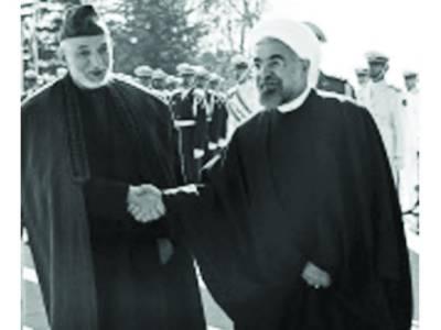 کرزئی کی ملاقات :غیر ملکی افواج کوافغانستان سے نکل جاناچاہئے: ایرانی صدر