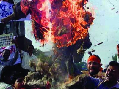 بنگوئی: فسادات جاری، شہید ہونیوالے مسلمانوں کی تعداد 400 سے بڑھ گئی