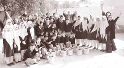 ٹیلی نار ملازمین کا ریڈ فاؤنڈیشن کمیونٹی سکول کا دورہ