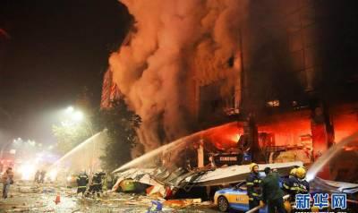 چین کے شاپنگ مال میں آگ لگنے سے 4 افراد ہلاک، 35 زخمی