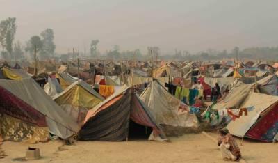 بھارت:متاثرین مظفر نگر کی خیمہ بستیوں میں 3ماہ میں سردی سے 34بچے ہلاک