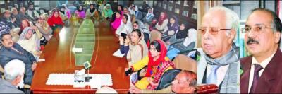 مسلم لیگوں کے اتحاد سے ہی پاکستان مستحکم ہو گا' کشمیر آزاد کرایا جا سکے گا: ڈاکٹر مجید نظامی