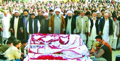 بلدیاتی امیدواروں کی شہادت کےخلاف جمعہ کو احتجاج کیا جائیگا، علامہ ناصر عباس
