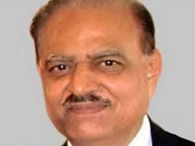 کراچی میں امن کا قیام حکومت کی اولین ترجیح ہے 'ممنون حسین