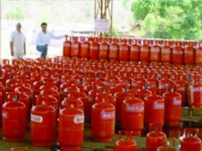 ظفروال میں گیس کا گھریلو سلنڈر 1550، کمرشل 6000 روپے میں بکنے لگے