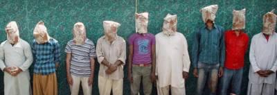 منشیات اور ناجائز اسلحہ کے 10 ملزم گرفتار