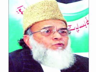 سیکولر لابی مذاکرات کی بجائے فوجی آپریشن کے حق میں راہ ہموار کر رہی ہے: منور حسن