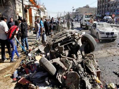 عراق: خودکش حملہ' 4 کار بم دھماکے' 24 شہری' آپریشن میں 57 جنگجو ہلاک
