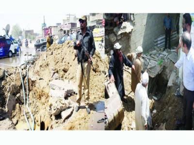 ناظم آباد گجر نالہ پر قائم غیر قانونی ہائیڈرنٹ کے خلاف واٹر بورڈ کی کارروائی