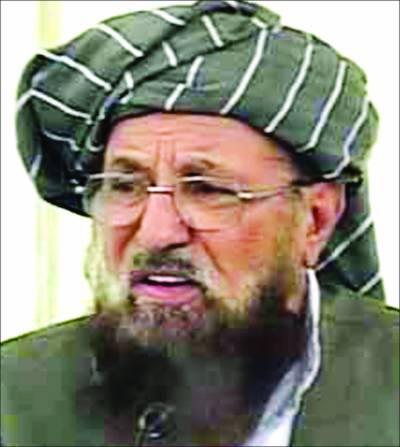 حکومت طالبان مذاکرات کیلئے مقام آج طے ہو جائیگا' خواجہ آصف آپریشن کیلئے بے تابی نہ دکھائیں: سمیع الحق