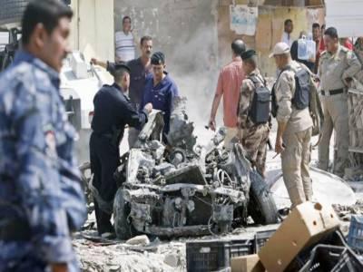 عراق: 5 کار بم دھماکے، 10افراد ہلاک، 32 زخمی