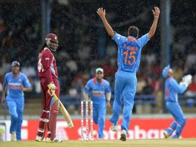 بھارت نے ویسٹ انڈیز کو شکست دیکر مسلسل دوسری کامیابی حاصل کر لی