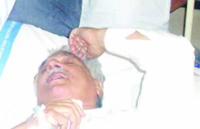 مسلم لیگ ن کے جنرل سیکرٹری اقبال ظفر جھگڑا حادثے میں شدید زخمی