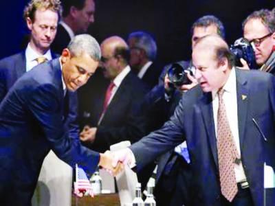 مسئلہ کشمیر: بھارت ٹال مٹول کر رہا ہے' امریکہ کردار ادا کرے: ڈاکٹر نوازشریف' معاملات دیکھیں گے' کیری: تعاون کریںگے' فرانسیسی صدر