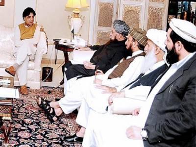 آج خفیہ مقام پر مذاکرات کا امکان' طالبان سے جنگ بندی میں توسیع پر بات ہو گی: حکومتی مشاورت مکمل' ہم نے بھی 3 نکاتی ایجنڈا تیار کرلیا: ترجمان طالبان
