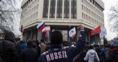 روس کے حامیوں نے یوکرائن کے علاقے ڈونیسٹک کی آزادی کا دعوی کر دیا' ماسکو کیساتھ الحاق کیلئے ریفرنڈم کا مطالبہ