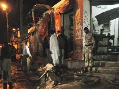 کراچی: خونریزی جاری، 5 افراد ہلاک، سہراب گوٹھ تھانے، چوکی پر بموں سے حملے