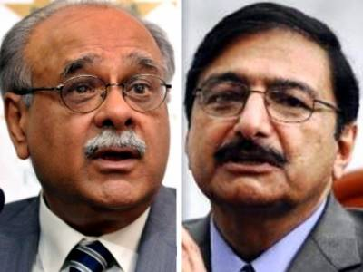 پاکستان کو آئی سی سی بگ فور کی دعوت ملی تھی: نجم سیٹھی ، انگلینڈ ، آسٹریلیا مخالف تھے: ذکاء اشرف