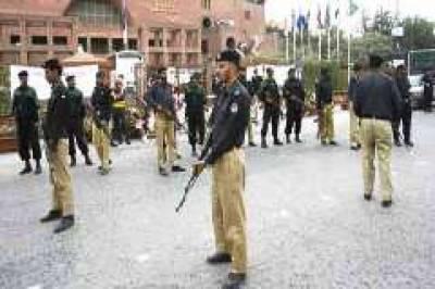 4 خود کش بمبار، بارودی گاڑی داخل ہونے کی اطلاع، لاہور میں سکیورٹی ہائی الرٹ