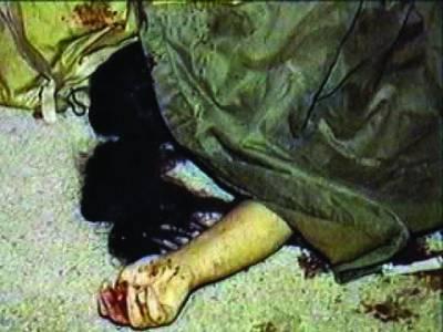 بدچلنی کے شبہ پر بیوی کو موت کے گھاٹ اتار دیا