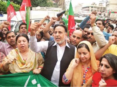 طویل لوڈشیڈنگ کیخلاف احتجاج جاری' تحریک انصاف کے بھی مظاہرے' گرمی سے 6 افراد ہلاک
