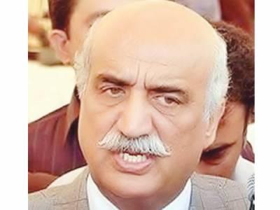 حکومت خود کو عقل کل نہ سمجھے، مذاکرات پر پارلیمنٹ، اپوزیشن کو اعتماد میں لے: خورشید شاہ