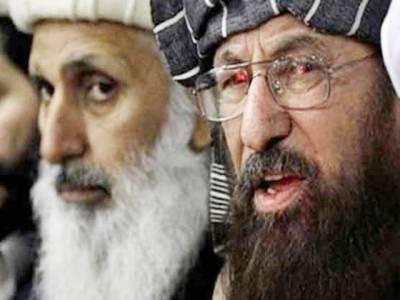خفیہ ہاتھ طالبان سے مذاکرات کو نقصان پہنچانا چاہتے ہیں: سمیع الحق' حکومت ساتھ دے: پروفیسر ابراہیم