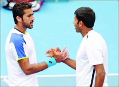 میڈرڈ اوپن ٹینس ٹورنامنٹ : اعصام الحق کی جوڑی تیسرے راؤنڈ میں پہنچ گئی
