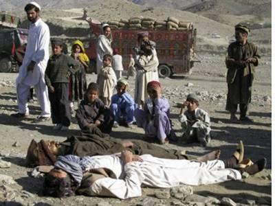 پرتشدد واقعات میں 8 افغان سکیورٹی اہلکار اور6 شدت پسند ہلاک ہوگئے