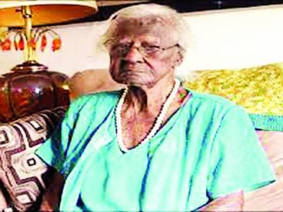 معمر ترین امریکی خاتون نے 115 ویں سالگرہ منائی