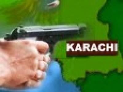 کراچی: حساس ادارے کے اہلکار سمیت 10 افراد کی ٹارگٹ کلنگ' 2 گینگسٹر مارے گئے