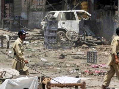 مہمند ایجنسی: بارودی سرنگ دھماکہ' خیبر ایجنسی میں جھڑپ' 8 ایف سی اہلکار' 8 شدت پسند جاں بحق' طالبان نے ذمہ داری قبول کر لی