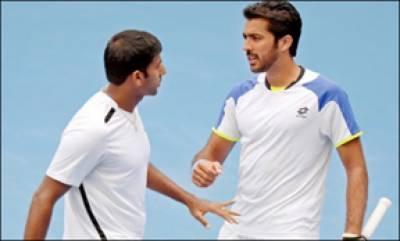 نائس اوپن ٹینس ٹورنامنٹ کے فائنل میں اعصام الحق اور روہن بوپننا کو شکست