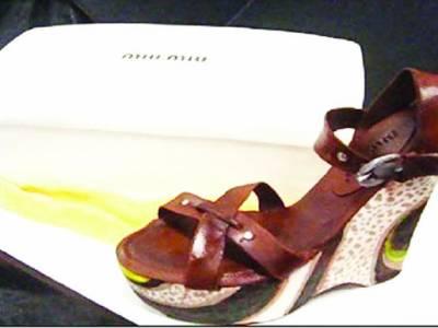 امریکی بیکر نے جوتوں کی شکل کے کیک بنا لئے
