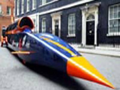 برطانیہ کی آواز سے تیز رفتار کار کا کاک پٹ تیار