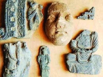 مردان میں 1000 سال پرانا گاؤں دریافت