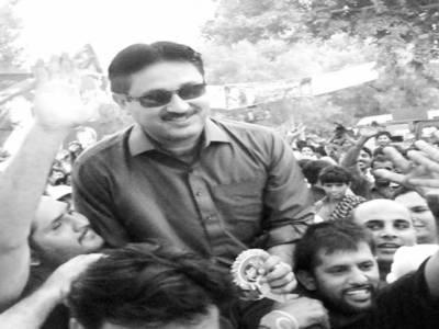 ''آزادی مارچ'' جمشید دستی قافلہ لیکر لاہور پہنچ گئے، عمران سے ملاقات
