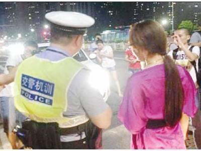 چین میں گاڑی کی ہائی بیم ہیڈ لائٹیں آن کرنے پر انوکھی سزا