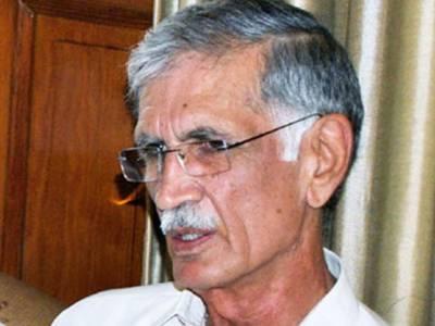 قوم وفاقی حکومت سے عاجز آچکی سروں پر کفن باندھ کر نکلیں گے: پرویز خٹک