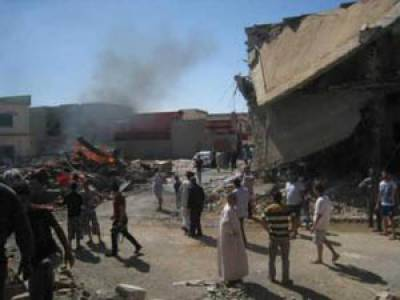 عراق : موصل میں اہم ڈیم پر امریکی طیاروں کی بمباری' سات افراد ہلاک