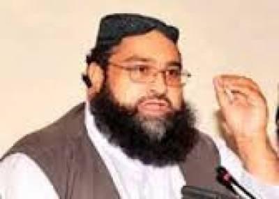 محرم الحرام میں قیام امن کیلئے پاکستان علماءکونسل سے رابطے میں ہیں: طاہر اشرفی