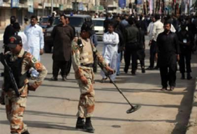 عزاداری کا سلسلہ جاری ، حساس مقامات پر پولیس کے ساتھ فوج کے جوان بھی تعینات