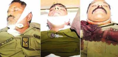 خودکش دھماکے میں جاں بحق 3 رینجرز اہلکاروں کی لاہور میں نماز جنازہ